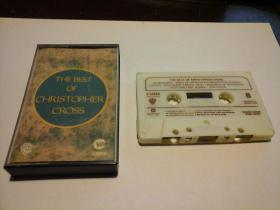 The Best Of Christopher Cross Cassette Nacional
