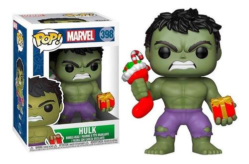 Funko Pop Hulk #398 Marvel Hulk Christmas Edition