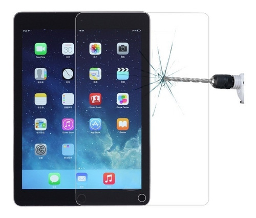 Imagen 1 de 7 de Vidrio Templado Premium 9h  2,5d iPad 2 3 4 Gorilla Glass