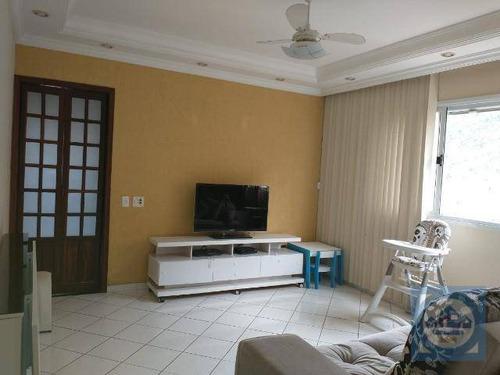 Apartamento Com 2 Dormitórios À Venda, 75 M² Por R$ 350.000,00 - Marapé - Santos/sp - Ap5616