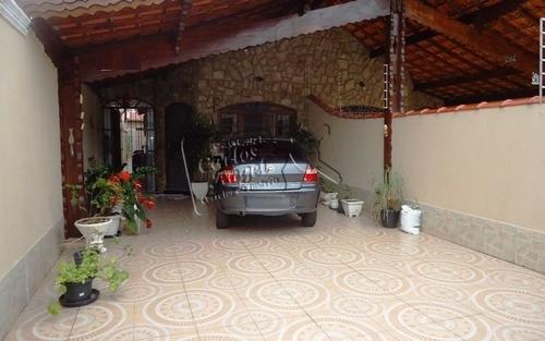 Casa A Venda No Bairro Vila Caiçara Em Praia Grande - Sp.  - 2837-1
