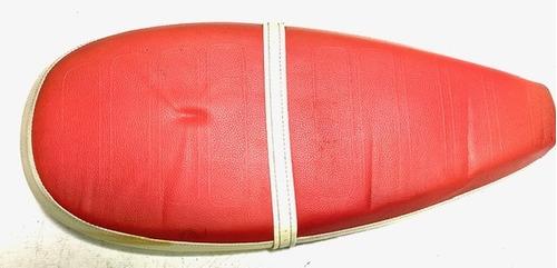 Imagen 1 de 9 de Asiento Rojo Con Detalles Zanella Mod 150 Cuotas