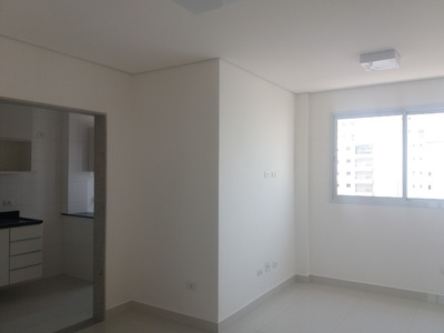 Ótimo Apartamento 2 Quartos Prédio Novo Com Lazerem Santos
