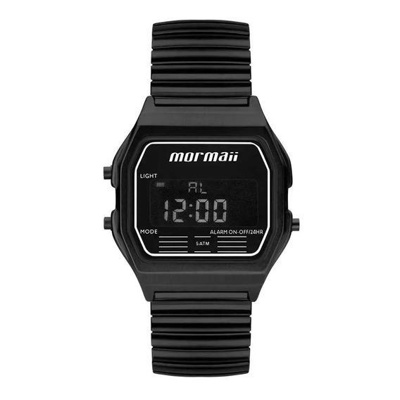 Relógio Mormaii Unissex Preto Digital Mojh02aw/4p