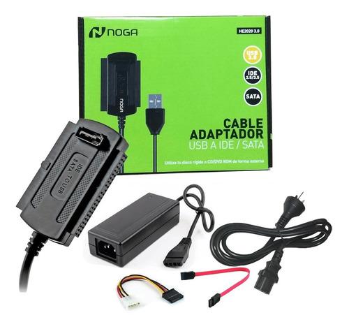 ADAPTADOR NOGA USB A SATA HE2020 3.0