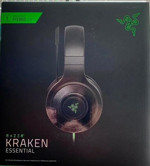 Fone Ouvido: Razer Kraken Essential