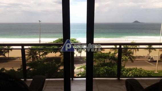 Apartamento À Venda, 3 Quartos, 3 Vagas, São Conrado - Rio De Janeiro/rj - 6900