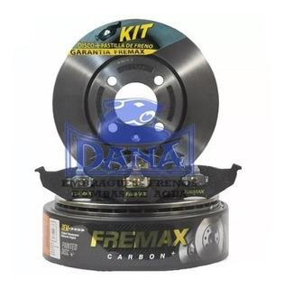 Discos + Pastillas De Freno Gol Trend Voyage 2012/.. Fremax