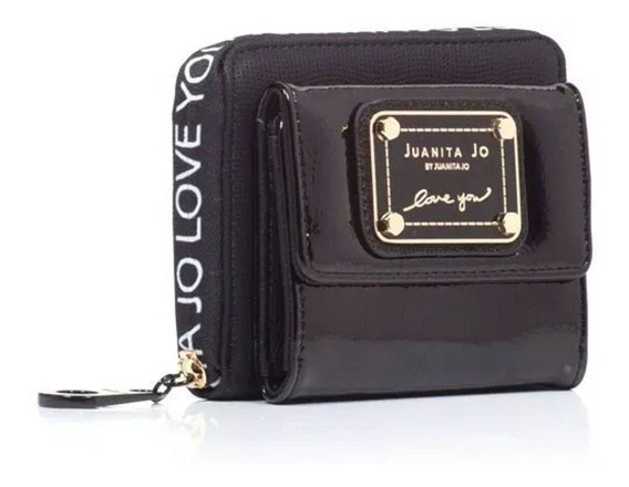 Billetera Juanita Jo Pocket negra