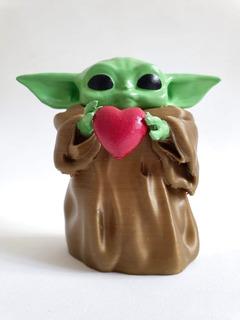 Baby Yoda Corazón - Regalo San Valentín - Envío Gratis Caba