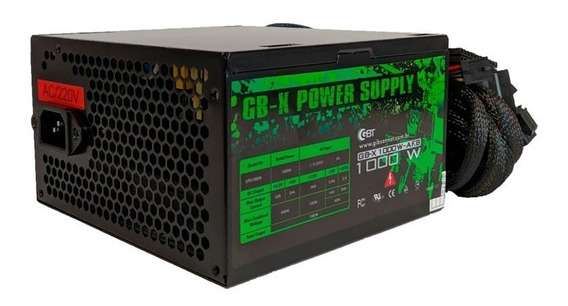 Fonte Gamer Gbx 1000w Real Up-s1000