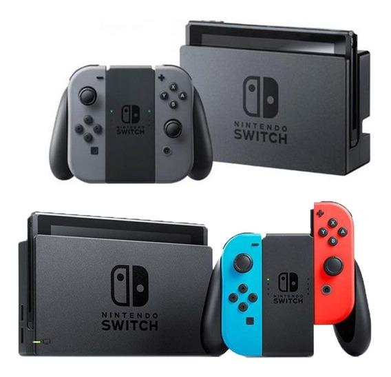 Nintendo Switch Desbloqueado + Cartão Sd 128gb + Jogos