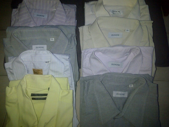 Camisas Manga Larga Talla 18,5