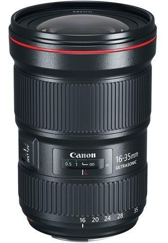 Imagem 1 de 9 de Lente Canon Ef 16-35mm F/2.8l Iii Usm Garantia Canon Brasil