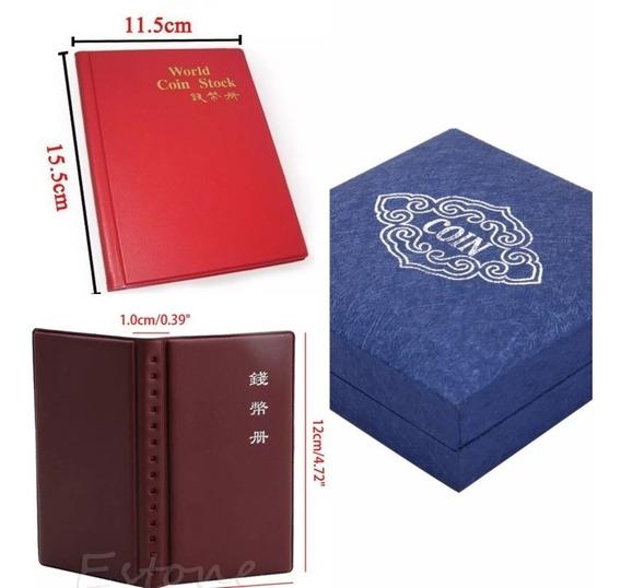 1 Álbum P/120 Moedas+1 Álbum P/12 Moedas + 1 Caixa/luxo Leia