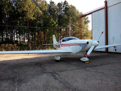 Avião Kr-2s Com Motor Lycoming 115