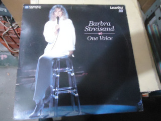 Barbra Streisand One Voice Laser Disc