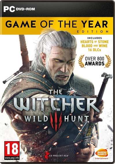 The Witcher 3 Wild Hunt - Game Of The Year Pc