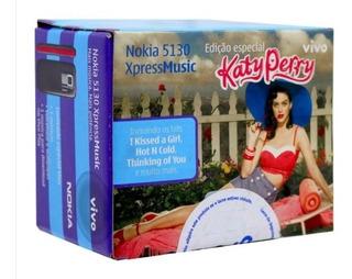 Celular Nokia 5130 Xpress Musickate Perry Edit - Usado