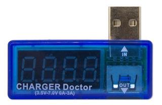 Medidor De Corriente Y Voltaje Usb Charger Doctor