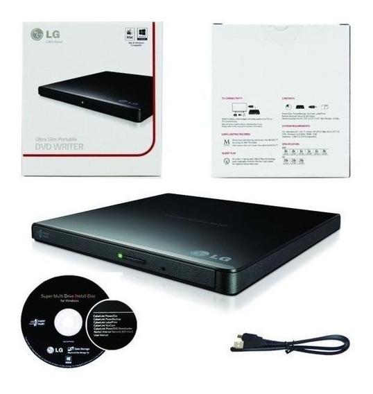 Unidad Externa Lg De Dvd, Ultra Slim Portable - Gp65nb60