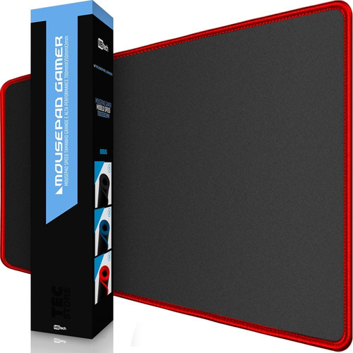 Mousepad Gamer Borda Costurada Grande 70 X 35 Speed Edition