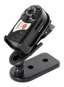 Mini Câmera Q7 Wifi P2p Sem Fio Espiã - Filma - Grava Vídeo