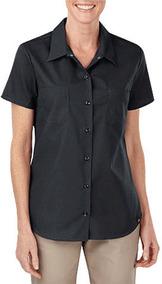 Camisa De Trabajo (uso Rudo) Manga Corta Para Mujer Xxl