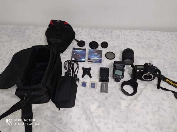 Máquina Fotográfica Nikon D 90