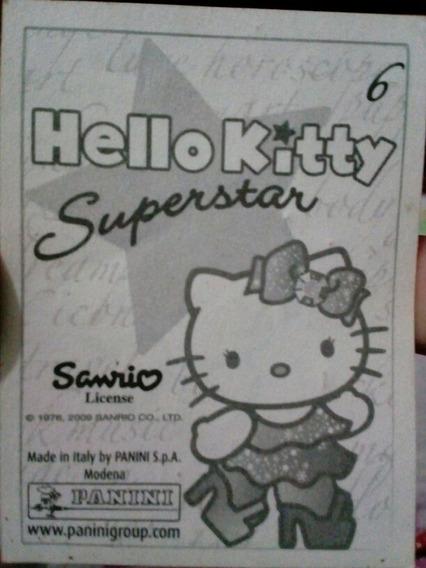 Estampas Hello Kitty Superstar, Panini, Sanrio