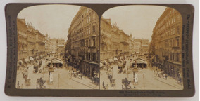 Fotografias Estéreo - Áustria, Viena (1902)