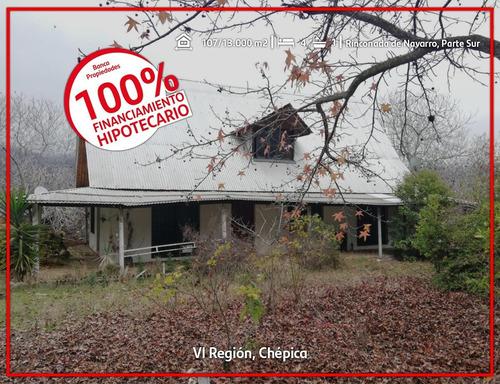 Imagen 1 de 8 de Parcela De Agrado Con Piscina, Chépica