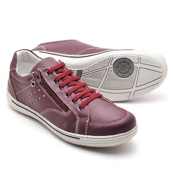Sapato Sapatênis Casual C/ziper Ranster 2010 B Frete Grátis