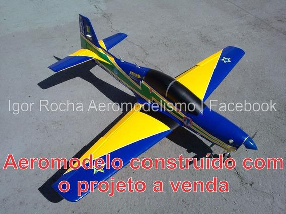 Projeto Pdf Aeromodelo T-27 Tucano - Construção Em Isopor