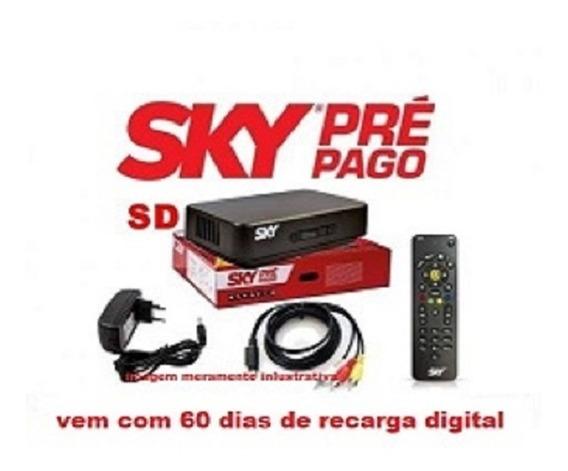 Sky Livre Pré-pago Flex Digital + Recarga Em Dobro