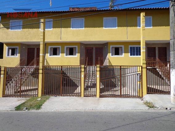 Sobrado Residencial À Venda, Vila Santista, Franco Da Rocha. - So0416