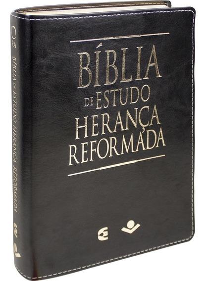 Bíblia De Estudo Herança Reformada Almeida Revista Atualizad