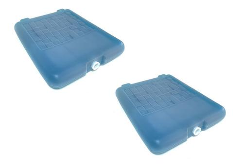 Imagen 1 de 8 de Refrigerante Rigido Grande 1kg Para Conservadora Pack X 2