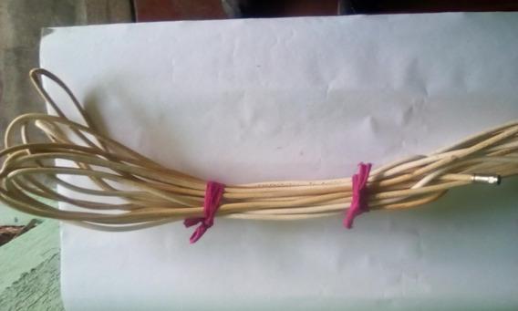 Cable Coaxial Antena Tv/cable Con Unión Autoroscante