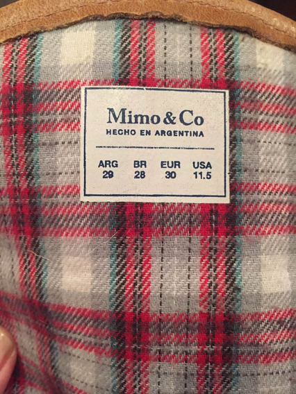 Botas Mimo & Co. Número 28 - Big Sale!!! Aprovéchalas! Camel