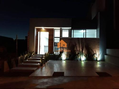 Casa Com 3 Dormitórios À Venda, 103 M² Por R$ 430.000 - Condomínio Terras De São Francisco - Sorocaba/sp - Ca3980