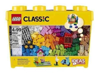 Lego Classic Caja Grande 790 Fichas Caja De Ladrillo 10698
