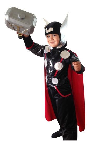 Disfraz Thor Niño Envío Gratis