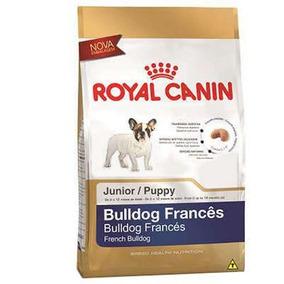 Ração Royal Canin Bulldog Francês Junior / Filhote - 1kg