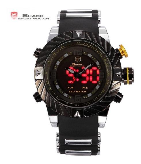Relógio Shark Frete Grátis Original Globin