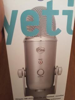 Micrófono Blue Yeti Usb + Brazo Antipop