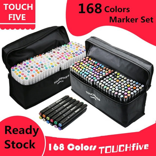 Marcadores Touchfive 168pc Full Color Sketch De Arte