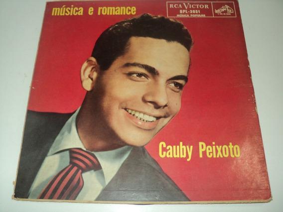 Disco De Vinil-cauby Peixoto-música E Romance-disco Raro