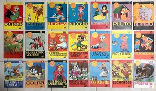 Coleccion Clasicos De Disney N° 1 Al 24 Editorial Jet 1966