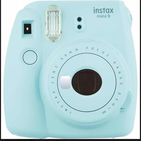 Instax 9 Fujifilm Polaroid Azul Bebe Câmera Instantanea